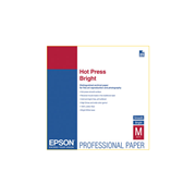 Epson A4 SignatureWorthy Bright Hot Press Fine Art 330gsm 25s