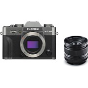 Fujifilm X-T30 charcoal silver + 14mm f/2.8 kit