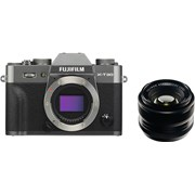 Fujifilm X-T30 charcoal silver + 35mm f/1.4 kit