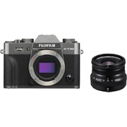 Fujifilm X-T30 charcoal silver + 16mm f/2.8 WR black kit
