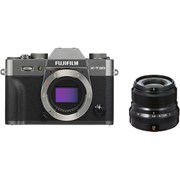 Fujifilm X-T30 charcoal silver + 23mm f/2 black kit