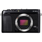 Fujifilm SH X-E3 Body only black grade 10 (warranty 11/09/2021)