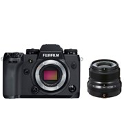 Fuji X-H1 + 23mm f/2 kit (black lens)