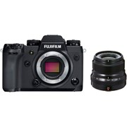Fujifilm X-H1 + 23mm f/2 kit (black lens)