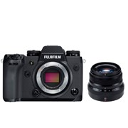 Fuji X-H1 + 35mm f/2 kit (black lens)