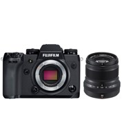 Fuji X-H1  + 50mm f/2 black kit