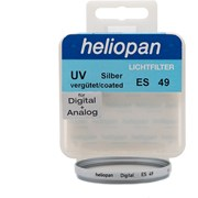 Heliopan 49mm UV Slim filter silver (1 left at this price)