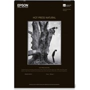 Epson A2 Hot Press Natural Signature Worthy Paper 330gsm 25 Sheets