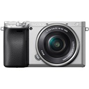 Sony Alpha a6400 + 16-50mm f/3.5-5.6 (Silver body, Silver Lens) (Free GP-VPT1 Grip, valid till 31 Oct 2019)