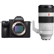 Sony Alpha a7 III + 100-400mm f/4.5-5.6 GM OSS FE Kit (Free NP-FZ100 battery)