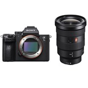 Sony Alpha a7 III + 16-35mm f/2.8 GM FE Kit (Free NP-FZ100 battery)