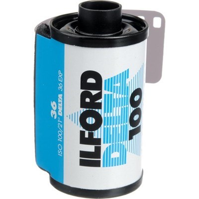 Product: Ilford Delta 100 Film 35mm 36exp
