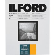 "Ilford 8x10"" MGIV RC Deluxe Satin 25s"