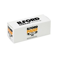Product: Ilford Pan F Plus 50 Film 120 Roll