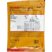 Kodak D-76 Film Developer Powder (Makes 1 Gallon)