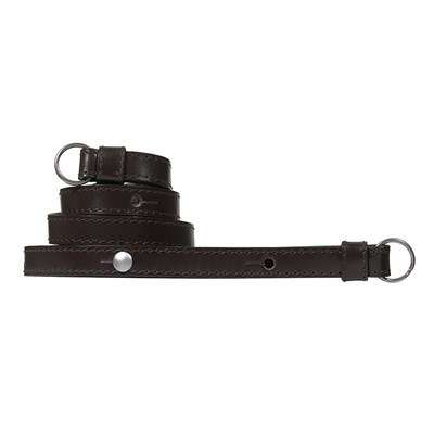 Product: Leica Calf Leather Mocha Carrying Strap