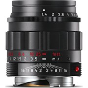 Leica 50mm f/1.4 Summilux-M ASPH Lens Black-Chrome