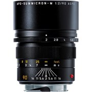 Leica 90mm f/2 APO-Summicron-M ASPH Lens Black