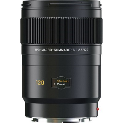 Product: Leica 120mm f/2.5 Summarit-S APO-Macro CS Lens (Leaf Shutter)