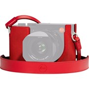 Leica Q2 Protector Leather Red