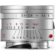 Leica 35mm f/2.4 Summarit-M Lens Silver