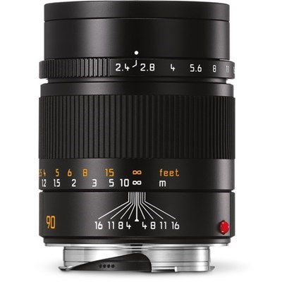 Product: Leica 90mm f/2.4 Summarit-M Lens Black