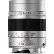 Leica 90mm f/2.4 Summarit-M Lens Silver