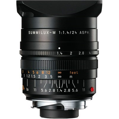 Product: Leica 24mm f/1.4 Summilux-M ASPH Lens Black