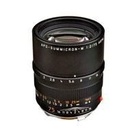 Product: Leica 75mm f/2 APO-Summicron-M ASPH Lens Black