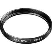 Leica 49mm UVA II filter black
