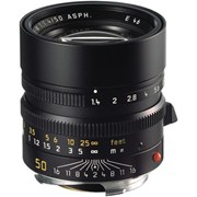 Leica 50mm f/1.4 Summilux-M ASPH Lens Black