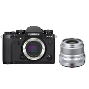 Fujifilm X-T3 Black + 23mm f/2 Silver Kit