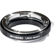 Metabones Leica M Lens to Sony E-Mount Camera T Adapter Black