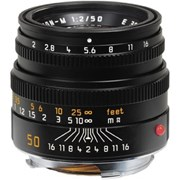 Leica 50mm f/2 Summicron-M Lens Black