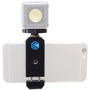 Lume Cube Clip + ball head mount: Smartphone