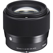 Sigma 56mm f/1.4 DN Lens Black: Micro Four Thirds