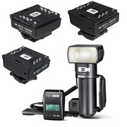 Metz SH 76MZ5 Flash: 3 x NiMH batteries & 3 x TTL Modules (Nikon) grade 8