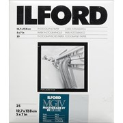 "Ilford 5x7"" MGIV RC Deluxe Pearl 25s"