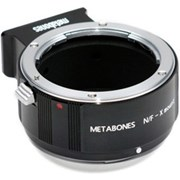 Metabones Nikon F-Fuji X lens adapter (matt black)