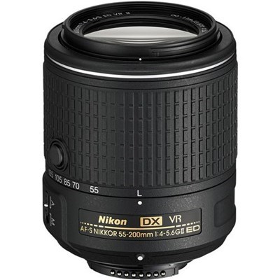 Product: Nikon AF-S 55-200mm f/4-5.6G VRII DX Lens
