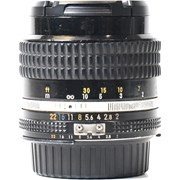 Nikon SH 85mm f/2  AI-S manual focus lens grade 7