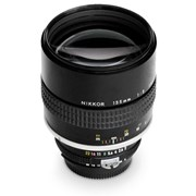 Nikon SH 135mm f/2 Manual Focus AIS lens grade 7