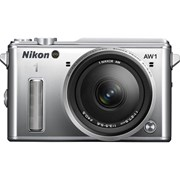 Nikon 1 AW1 body + 11-27.5mm f/3.5-5.6 kit silver (1 only)