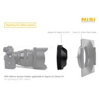 Product: NiSi Adapter for Sigma 12-24mm f/4 Art (use with 180mm Filter Holder)