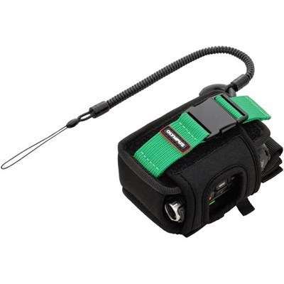 Product: Olympus Sports Holder for TG-Tracker (Black/Green)