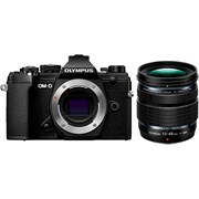Olympus E-M5 Mark III + 12-45mm f/4 PRO Black Kit (Available Early May 2020)