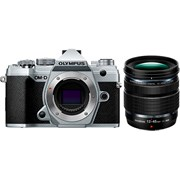 Olympus E-M5 Mark III + 12-45mm f/4 PRO Silver Kit (Available Early May 2020)