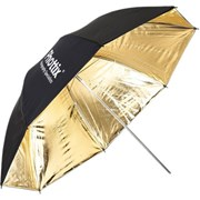Phottix 101cm Reflective Umbrella Blk/Gold
