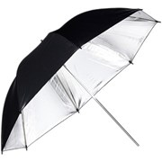 Phottix 101cm Studio Umbrella (Blk/Slvr)