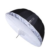 Phottix Diffuser: Premio 120cm Silver/Black Umbrella